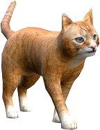 Хартиен свят: Домашна котка - 3D модел за сглобяване - детски аксесоар