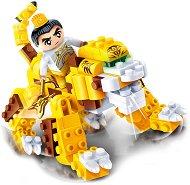 """Жълт дракон - Детски конструктор от серията """"Tang Dynastie"""" - играчка"""