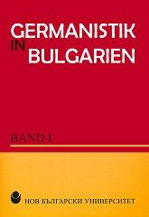 Germanistik in Bulgarien - band 1 -