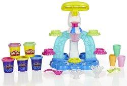Направи сладоледи от цветен моделин - Творчески комплект - играчка