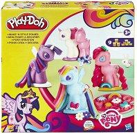 Направи понита от цветен моделин - Творчески комплект - играчка