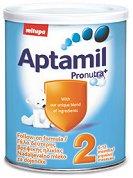Преходно мляко - Aptamil 2 Pronutra+ - Опаковка от 400 g за бебета от 6 до 12 месеца -