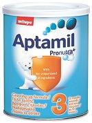Преходно мляко - Aptamil 3 Pronutra+ - Опаковка от 400 g за бебета над 12 месеца -