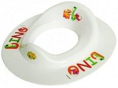 Анатомична седалка за тоалетна чиния - Dino -