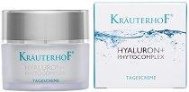 """KrauterhoF Hyaluron + Phytocomplex Tagescreme - Хидратиращ дневен крем с хиалуронова киселина от серията """"Hyaluron + Phytocomplex"""" -"""