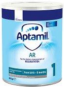 Мляко за кърмачета със склонност към оригване и повръщане - Aptamil Proexpert Anti-Regurgitation (A.R.) - Опаковка от 400 g за бебета от 0+ месеца -