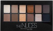 Maybelline The Nudes Eyeshadow Palette - Палитра сенки за очи - балсам