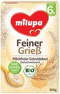 Milupa - Инстантна био безмлечна каша с грис - Опаковка от 250 g за бебета над 6 месеца - продукт
