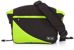 Чанта - Courier: Lime - Аксесоар за детска количка с подложка за преповиване -