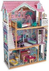 Къща за кукли - Анабел - Дървена детска играчка - играчка