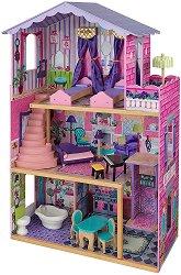 Имението на моите мечти - Дървена къща за кукли - играчка
