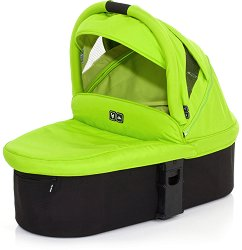 "Кош за новородено - Zoom: Lime - Аксесоар за детски колички ""Mamba"", ""Cobra"" и ""Zoom"" -"