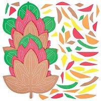 Декорирай сам - Есенни листа - Творчески комплект - фигура