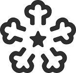 Пънч - Снежинка - Размер на щанцата L - продукт
