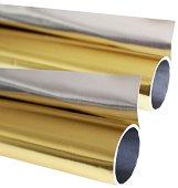 Двустранно метално фолио за декорация - Размери 50 x 78 cm