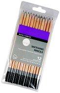 Графитни моливи - Simply Sketch - Комплект от 12 броя