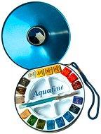 Акварелни бои - Aquafine Travel Set - Комплект от 18 цвята