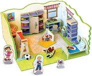 """Детска стая - 3D пъзел от колекцията """"3D Къща"""" -"""