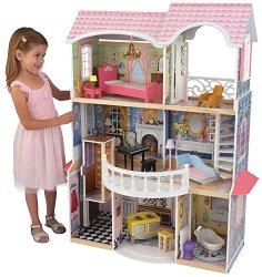 Къща за кукли - Магнолия - Дървена детска играчка - играчка