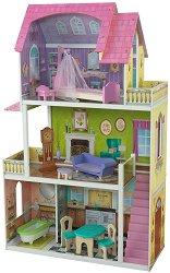 Къща за кукли - Флорънс - Дървена детска играчка - играчка