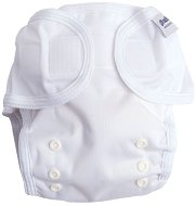 Бели непромокаеми гащички - За пелени за многократна употреба -