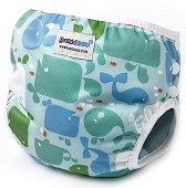 Бански гащички за бебе - Moby - Размер L - за деца от 14 до 20 kg -