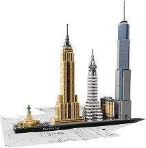 """Ню Йорк - Детски конструктор от серията """"LEGO Architecture"""" -"""