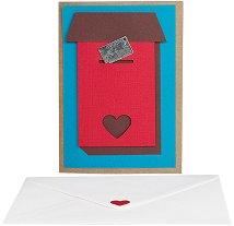 Поздравителна картичка - Пощенска кутия -
