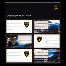 """Етикети за тетрадки - Lamborghini - От серията """"Lamborghini"""" - несесер"""