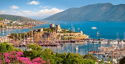 Пристанище Бодрум, Турска ривиера -