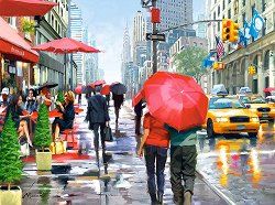 Кафе в Ню Йорк - Ричард Макнийл (Richard Macneil) -