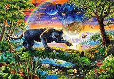 Пантера на здрачаване - пъзел