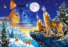 Виещи вълци - пъзел