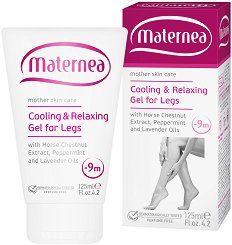 Maternea Cooling & Relaxing Gel For Legs - Успокояващ и охлаждащ гел за крака - серум
