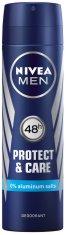 """Nivea Men Protect & Care Deodorant Spray - Дезодорант за мъже от серията """"Protect & Care"""" -"""