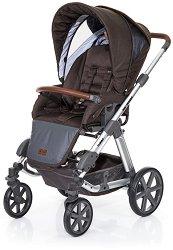 Бебешка количка 2 в 1 - Turbo 4: Style Tree - С 4 колела -
