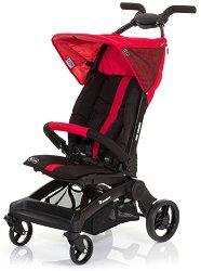 Лятна бебешка количка - Takeoff: Cranberry - С 4 колела -