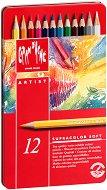 """Цветни акварелни моливи - Supracolor Soft - Комплект от 12, 18, 30, 40, 80 или 120 цвята от серията """"Artist"""""""
