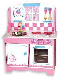 Детска кухня - Европа - Комплект с аксесоари - играчка