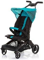 Лятна бебешка количка - Takeoff: Coral - С 4 колела -