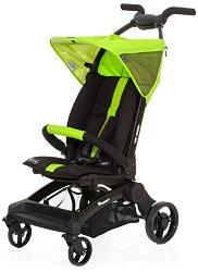 Лятна бебешка количка - Takeoff: Lime - С 4 колела -