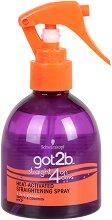 Got2b Straightening Spray - Спрей за изправяне на косата - молив