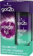 Got2b Powder'Ful Volumizing Styling Powder - Стилизираща пудра за коса за обем - душ гел