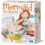 """Направи сама - Кукла-русалка - Творчески комплект от серията """"Girl Craft"""" - играчка"""