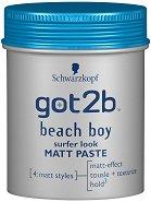 Got2b Beach Boy Surfer Look Matt Paste - Матираща паста за коса с плажен ефект -