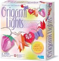 """Направи сама - Светещи оригами - Творчески комплект от серията """"Girl Craft"""" - играчка"""