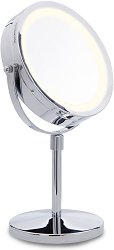 Lanaform Stand Mirror x10 - Двойно огледало с десетократно увеличение и светлини - пинцета