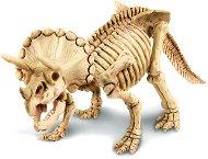 """Открий и сглоби - Скелет на трицератопс - Детски образователен комплект от серията """"Kidz Labs"""" -"""