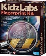 """Снемане на пръстови отпечатъци - Детски образователен комплект от серията """"Kidz Labs"""" - играчка"""