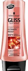 """Gliss Ultimate Resist Conditioner - Възстановяващ балсам за безжизнена и изтощена коса от серията """"Ultimate Resist"""" -"""